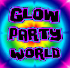 black light uv glow party kits