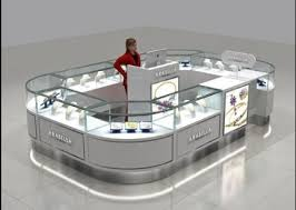 jewelry kiosk best display counters