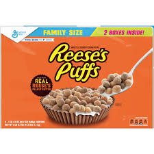 reese s puffs cereal family size 20 7