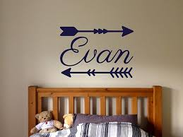 Amazon Com Vinyl Sticker Evan Name Boy Font Type Kids Room Nursery Mural Decal Wall Art Decor Eh626 Handmade