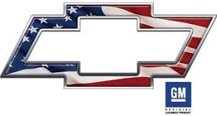 Chevy Bowtie Truck Car Suv Decal With Usa American Flag Weston Signs
