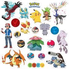 Room Mates Popular Characters Pokemon Xy Wall Decal Reviews Wayfair