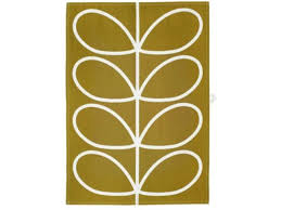 orla kiely 70s oval flower tea towels