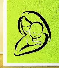Wall Sticker Vinyl Decal Mom Child Birth Baby Kids Room Unique Gift I Wallstickers4you