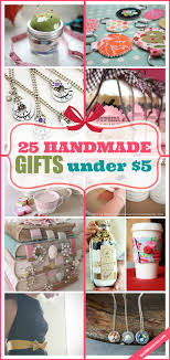 25 handmade gifts under 5 the 36th