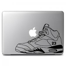 Air Jordan 5 Retro Shoes Apple Macbook Air Pro 13 15 17 Vinyl Decal Sticker Dreamy Jumpers