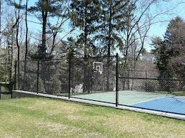 Basketball Court Chain Link Fence Fence Fence Fabric Chain Link Fence