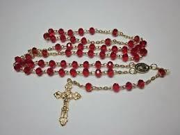homemade rosaries made from swarovski