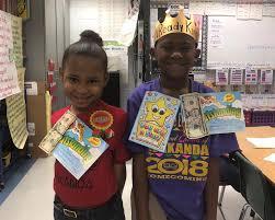 Zykeria Drain won 10.00 for the highest... - Ida Greene Elementary School |  Facebook