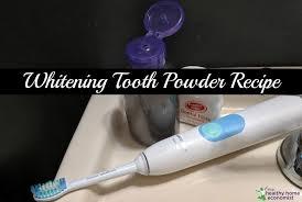 homemade tooth powder recipe whitening