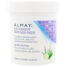 almay eye makeup remover pads gentle
