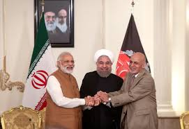 india iran afghanistan sign the