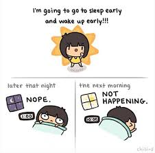 ilustrasi rasanya jadi penderita insomnia tiap malam