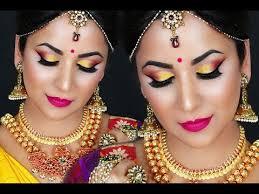 south indian bridal makeup you