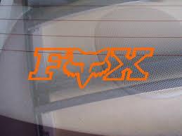 Fox Racing Off Road Logo Car Window Viny Buy Online In Jamaica At Desertcart