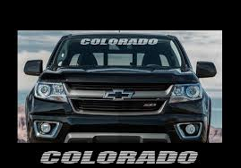 Product Colorado 36 Front Windshield Window Banner Decal Sticker Chevrolet Z71 Z71