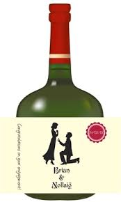 bottle labels personalised gifts