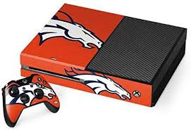 Lightweight Vinyl Decal Protection Officially Licensed Nfl Gaming Decal Ultra Thin Skinit Denver Broncos Large Logo