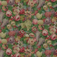 dollhouse wallpaper vine rose garden