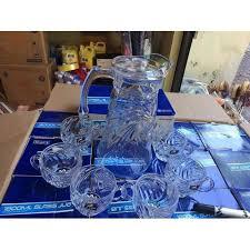 Bộ 6 cốc thủy tinh pha lê có tay