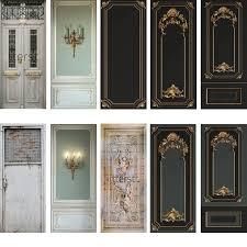Door Sticker Home Decor Door Wrap Wall Sticker Mural Wallpaper Poster Self Adhesive Pvc Removable Waterproof Door Decal Door Stickers Aliexpress