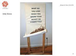 SVA Anti-Smoking Campaign