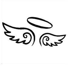 Angel Wings Halo Innocent Good Girl Sexy Woman Vinyl Decal Car Truck Sticker V2 Ebay