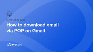 How to download email via POP on Gmail
