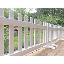 White Picket Fence Freestanding Picket Fence Hire
