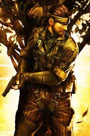metal gear solid snake iphone 4 wallpaper