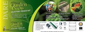 Degk 20 Electric Fence Garden Kit Electric Fence Garden Kit Includes De