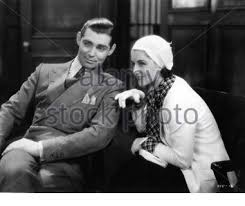 CLARK GABLE and NORMA SHEARER in A FREE SOUL 1931 director CLARENCE BROWN  book Adela Rogers St. Johns gowns Gilbert Adrian Metro Goldwyn Mayer Stock  Photo - Alamy
