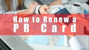 how to renew a pr card you