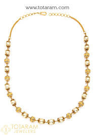 22k gold necklace with south sea pearls