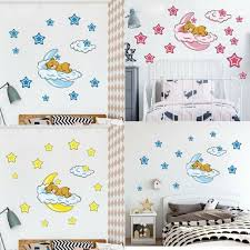 20 90pcs Little Star Decal Art Mural Wall Sticker Baby Kids Room Decor N For Sale Online Ebay