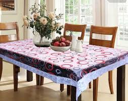 dining table cover round design printed
