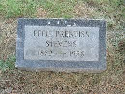Effie Prentiss Stevens (1872-1956) - Find A Grave Memorial