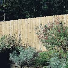 Unbranded 5 8 In X 5 1 2 In X 6 Ft Pressure Treated Pine Wood Dog Eared Fence Picket 10 Pack 030210950 The Home Depot