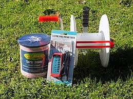 Electric Fence Tape Reel Combo Cross Country