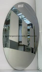 china 5 6mm frameless oval beveled