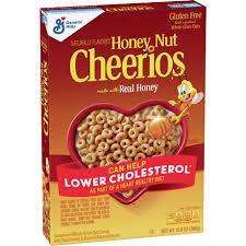 honey nut cheerios gluten free oat