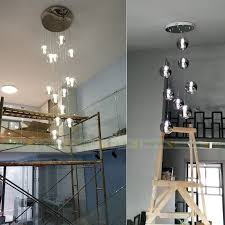 xl 1 5m glass ball pendant lights
