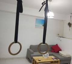 homemade gym part i olympic rings