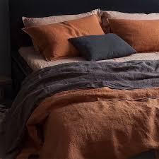 bedroom orange small guest bedroom