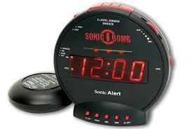 loud alarm clock for heavy sleepers