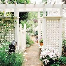 12 Diy Trellis Designs For Privacy Trellis Fence Trellis Design Garden Gate Design