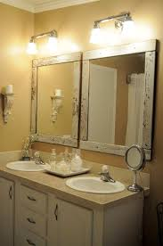 homemade frame bathroom mirrors those