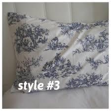 toile bedding fl print