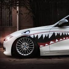 2020 Wholesale Car Sticker Decal Shark Mouth Warhawk 2 Design Vinyl 150x51cm Tuning Auto Car Styling Accessories From Out2244 34 36 Dhgate Com