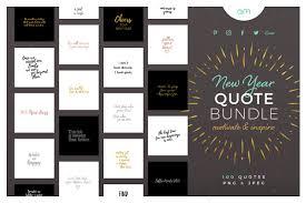new year quote bundle creative social media templates creative